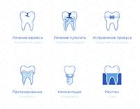 Icons • Dentistry   Иконки • Стоматология
