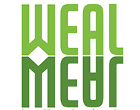 Weal Meal - logo design for food company.