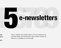 5 e-newsletters