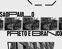 POSTER COLLECTION   SÃO PAULO EM PRETO E BRANCO