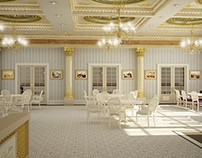 Qatar HagiaSophia Cafe Desing.