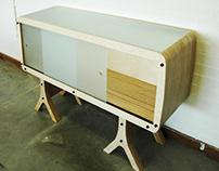 CNC Side Cabinet