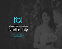 Nadtochiy Photography — logo & identity design