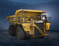 Komatsu: through permafrost, desert and swamps