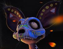 Xoloitzcuintle / Día de Muertos 2016