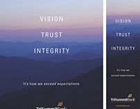 TriSummit Bank: Branding Campaign