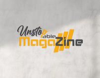 Logo Design For Unstopapble Magazine