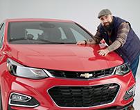 Chevrolet | Du sérieux en avant, du fun en arrière