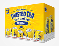 Twisted Tea 16oz Can Packaging