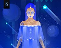 Digital Art | Jhene Aiko - Blue Dream