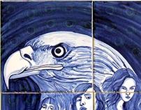 Eagle's eye / Olhar de águia