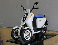 3 wheels scooter prototype ...