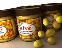 Peanut butter commercial 3D renders
