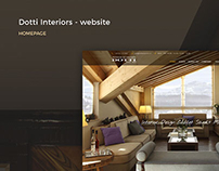Dotti Interiors - Website + Creative Direction