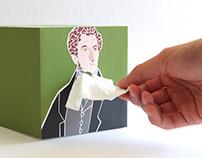 Neckerchief, Tissue Box Design