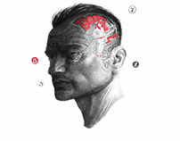 An intricate study of the mind by Bayo