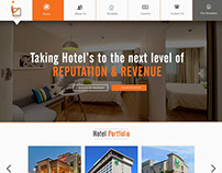 Hotel's Website Designs