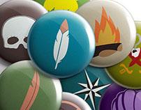 Neverland Buttons