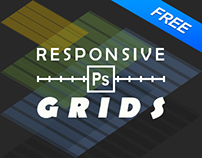 Free responsive grids for Photoshop