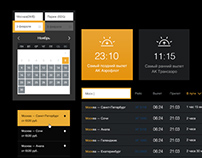 OTT Landing / UI Elements