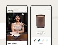 Handmade Ceramic Store App