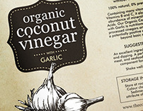 The Coconut Company - Organic Coconut Vinegar Packaging