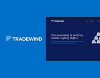 Tradewind Markets - Blockchain Technology Website