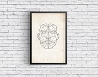 XXVI Geometric Artwork - Poster Design
