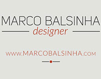 New website - Marco Balsinha