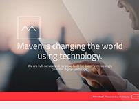 Maven Agency Re-Branding