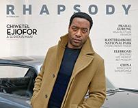 Greg Williams + Rhapsody Magazine + Chiwetel Ejiofor