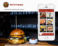 Food Delivery App | UI/UX Design