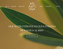RES ANTIQVA web design