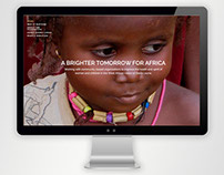 Website for A Brighter Tomorrow for Africa
