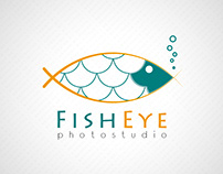 Fisheye business logo icon logotype branding icons
