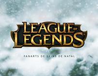 League of Legends - Fanarts de Skins de Natal