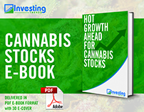 Cannabis Stocks E-Book Layout and Cover Design
