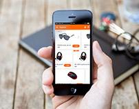|| UI/UX || LINIO Redesign App ||