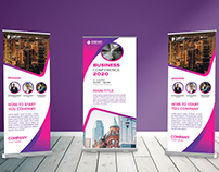 Business Conference Rol-lup Banner