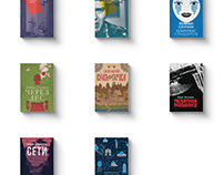 Book covers for IL-MUSIC