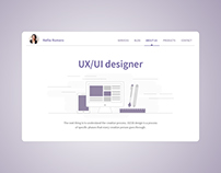 Daily UI Challenge from 51 to 60