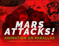 Mars attacks ! Animation
