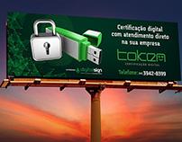Outdoor - Token Certificação Digital