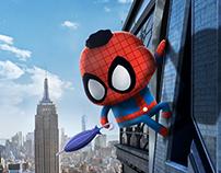 Ação Spider-Man e Mônica Toy