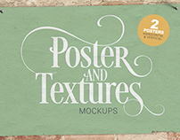 Poster & Textures Mockup