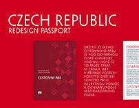 Redesign Passport of the Czech Republic