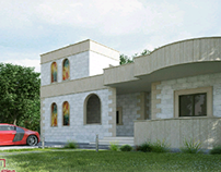 small house rendering