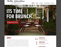 Brunch Restaurant Website