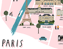 The Paris map