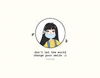Smile | Face Mask Illustration